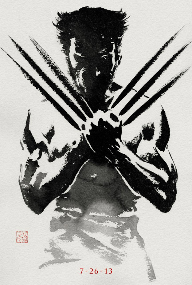 Genial primer cartel de The Wolverine de James Mangold