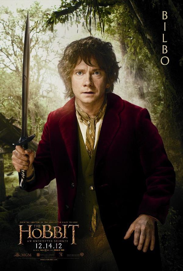 Uno de los muchos carteles de El Hobbit: Un Viaje Inesperado