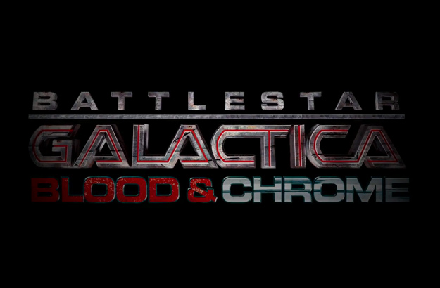 Logo de Battlestar Galactica: Blood & Chrome
