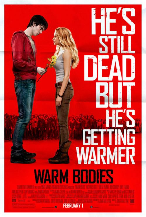 Y otro cartel más de la puede que muy jocosa Warm Bodies