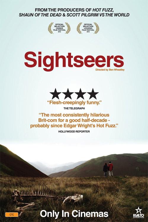 Uno de los carteles de SIghtseers