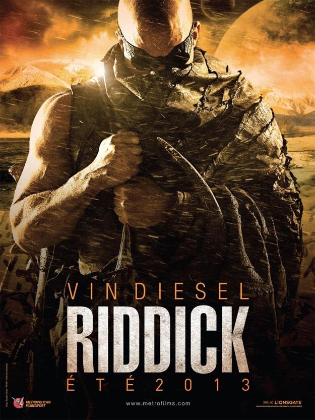 El primer cartel de Riddick