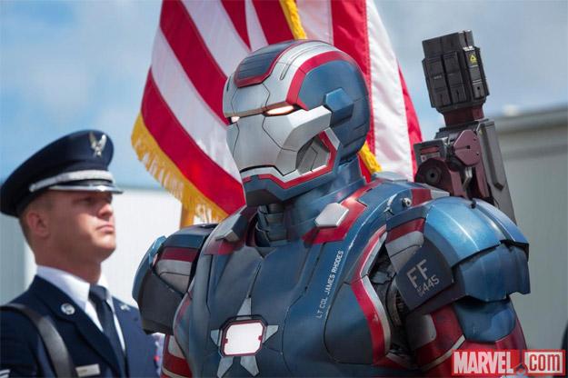 Nueva imagen de Iron Patriot, una evolución de War Machine con James Rhodes dentro