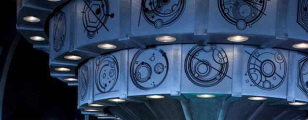 """Detalle del interior de la nueva TARDIS de """"Doctor Who"""""""
