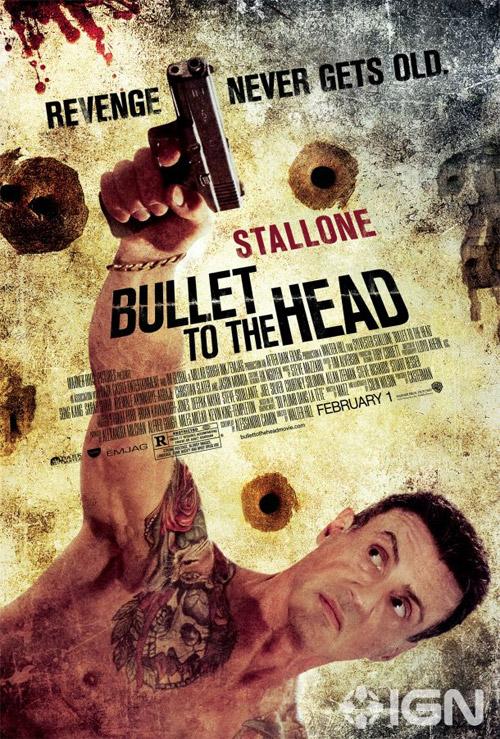 Primer cartel de Una bala en la cabeza