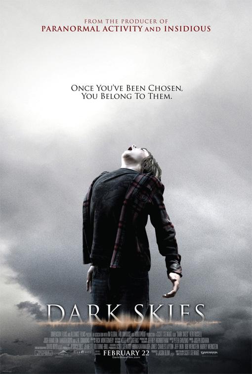 Primer flojeras cartel de Dark Skies
