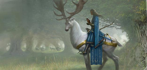 Thranduil, rey del los elfos silvanos del Bosque Negro