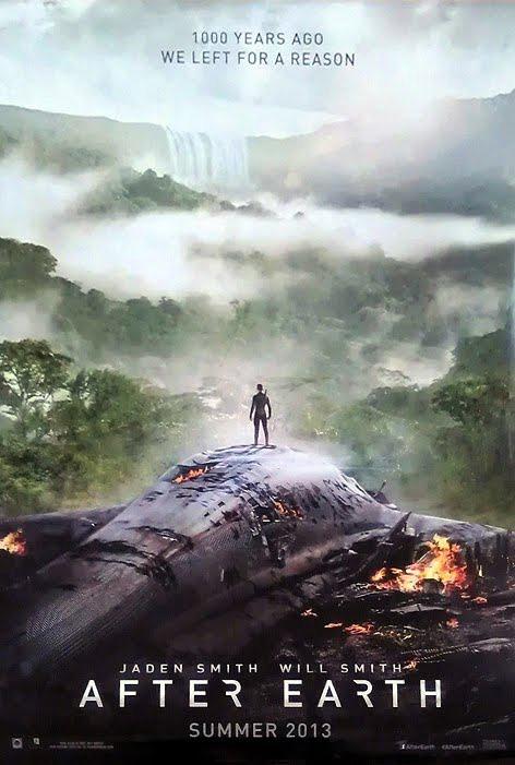 Un nuevo cartel de After Earth que nos introduce un poco más en el misterio