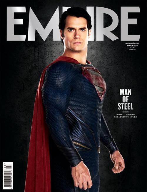 La nueva portada de Empire dedicada a El hombre de acero