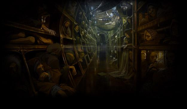 Así es el interior del tren de Snowpiercer