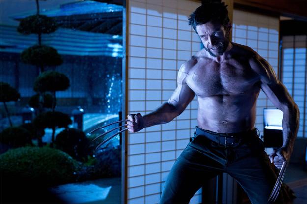 La imagen del otro día de The Wolverine en tamaño XL. Ahora podréis de ver hasta los capilares de ese torso