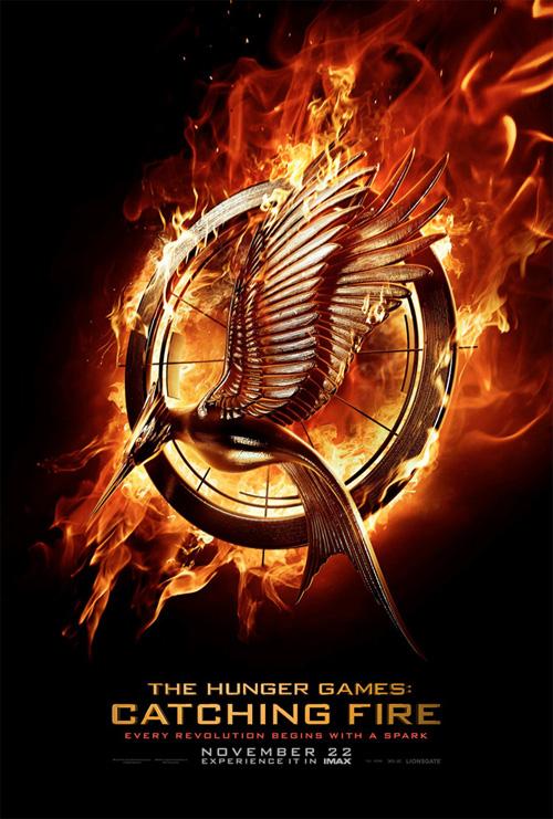 Un cartel de Los Juegos del Hambre: en llamas