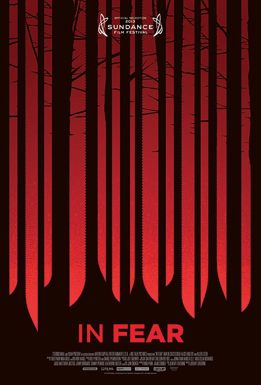 El primer cartel de In Fear, film de terror que se pudo ver en Sundance