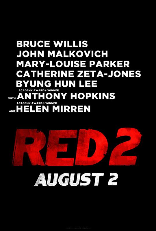 Un teaser póster de RED 2 como compañero de este primer avance