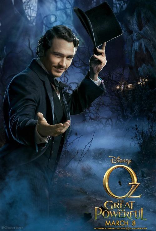 Un nuevo cartel de Oz: un mundo de fantasía y ahora con Oz