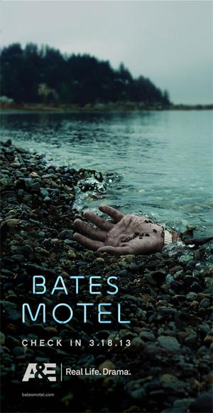 """Un par de carteles de la esperada """"Bates Motel"""""""
