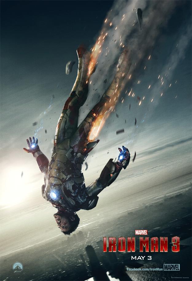 Genial nuevo cartel de Iron Man 3