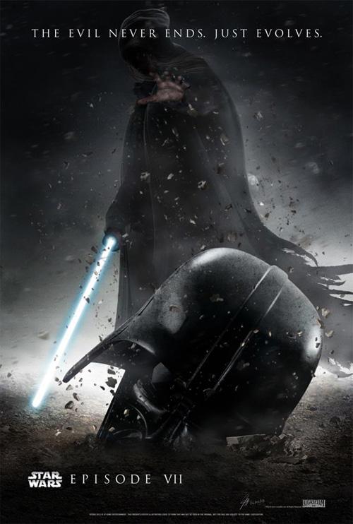 Genial fan made póster de lo que podría ser Star Wars: Episode VII si J.J. Abrams quisiera