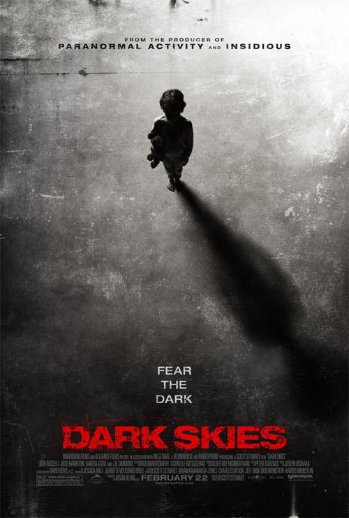 Nuevo cartel de Dark Skies