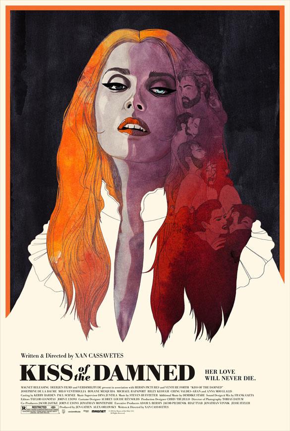 Genial cartel de Kiss of the Damned, ojalá se hicieran muchos más así