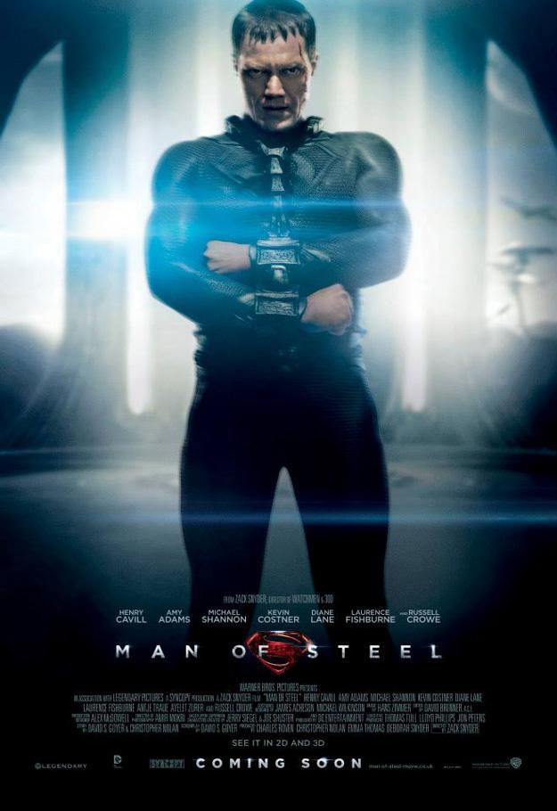 Michale Shannon como el General Zod