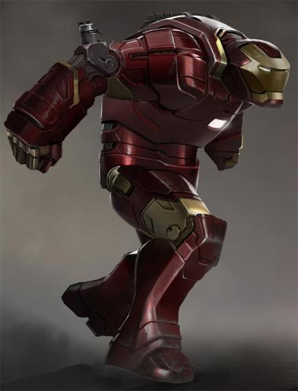 Esta armadura modo Hulk no me la esperaba ni de broma