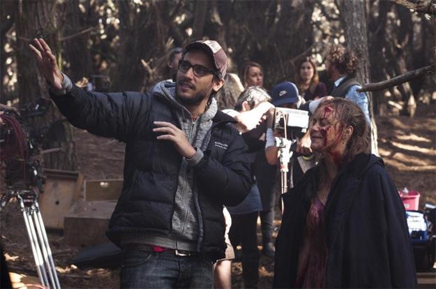 Vieja imagen del rodaje de Posesión infernal (Evil Dead)