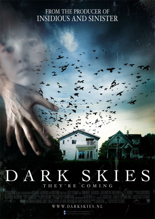 Un nuevo cartel de Dark Skies