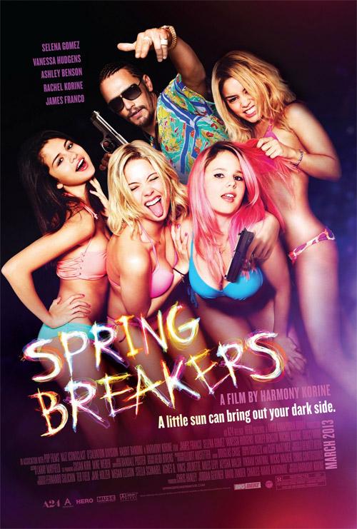 Y otro cartel más de Spring Breakers