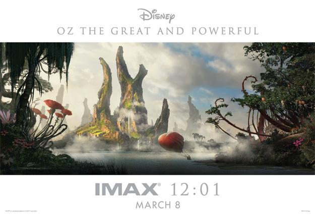 Cartel IMAX de Oz: un mundo de fantasía