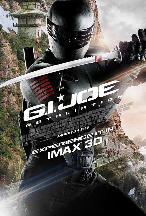 Pues no me mola nada este cartel IMAX de G.I. Joe: venganza