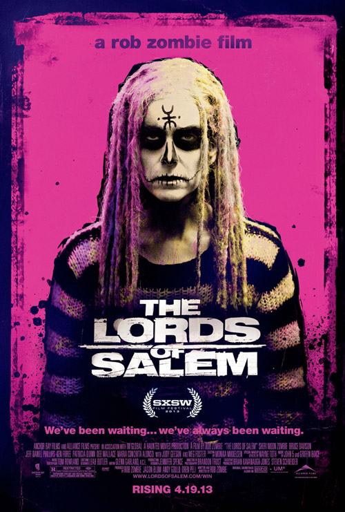 Y otro par de carteles de The Lords of Salem