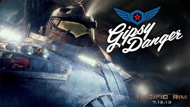 Otro banner de Pacific Rim se centra en presentar a Gipsy Danger