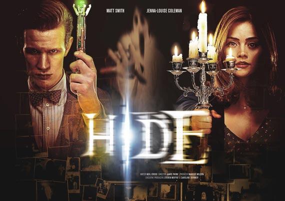 """Cartel del episodio """"Hide"""""""