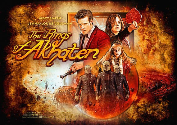 """Cartel del episodio """"The Rings of Akhaten"""""""