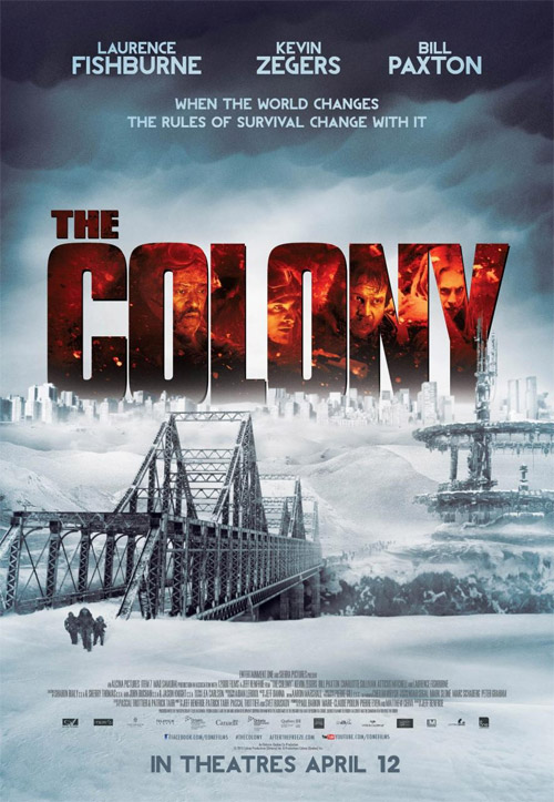 Primer cartel de The Colony