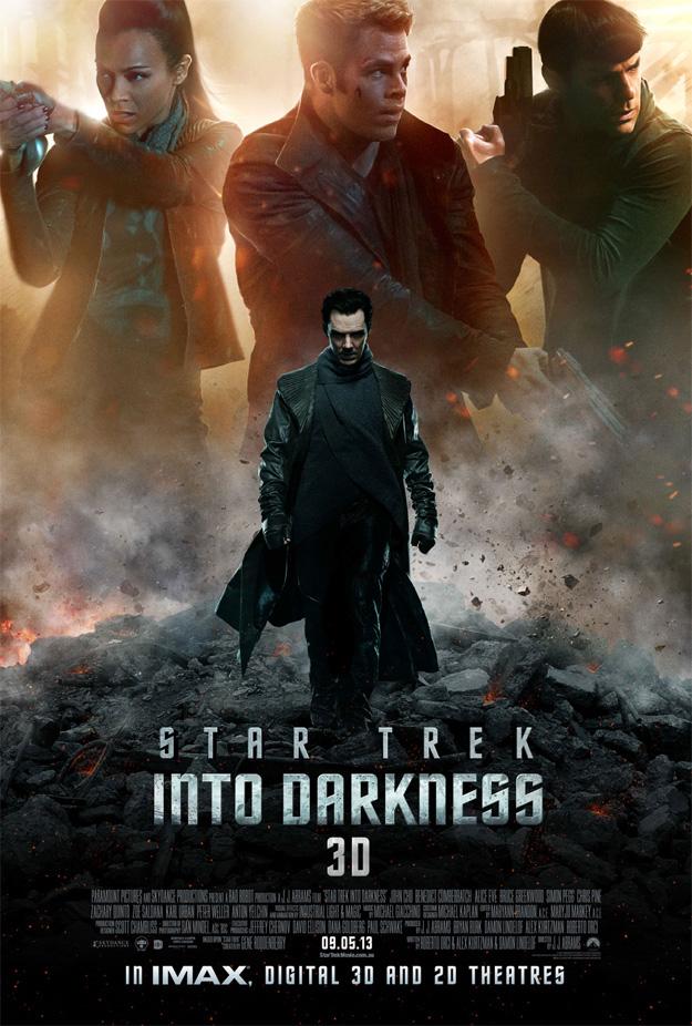 El nuevo cartel de Star Trek: en la oscuridad se deja ver