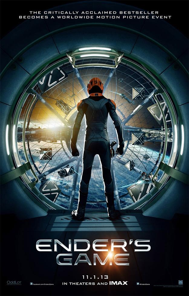 El primer cartel de El juego de Ender