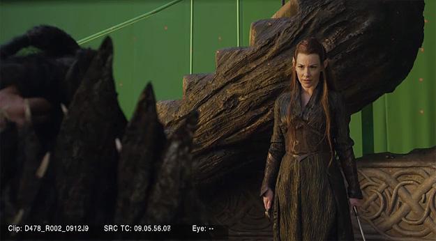 Primer vistazo al aspecto de Evangeline Lilly en El Hobbit: La Desolación de Smaug