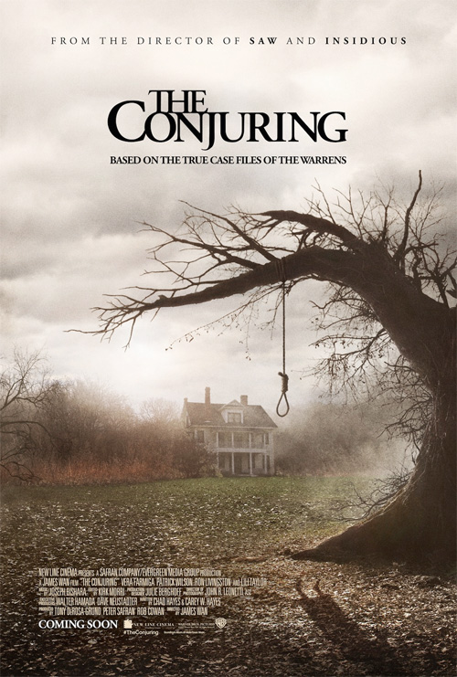 Un cartel de Expediente Warren: the conjuring