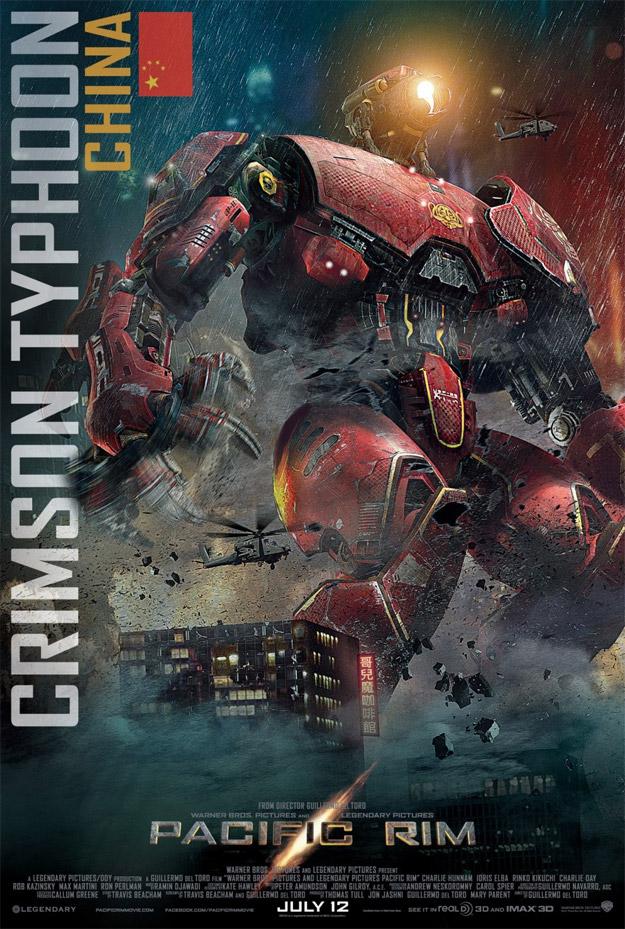 Crimson Typhoon e su cartel para Pacific Rim