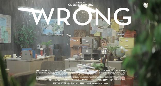 Póster animado de Wrong de Quentin Dupieux gracias a AICN... es verlo, recordar y partirme de la risa