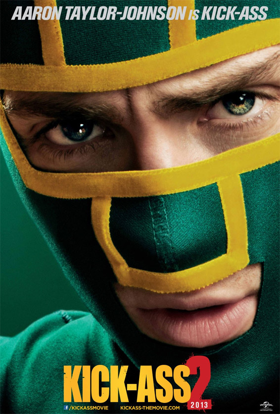 Otro cartel más de Kick-Ass 2: Balls to the Wall