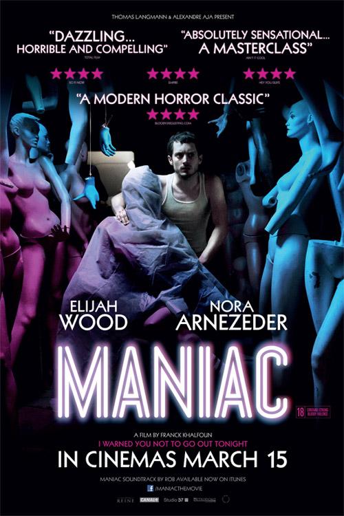 Un nuevo cartel de Maniac de Franck Khalfoun