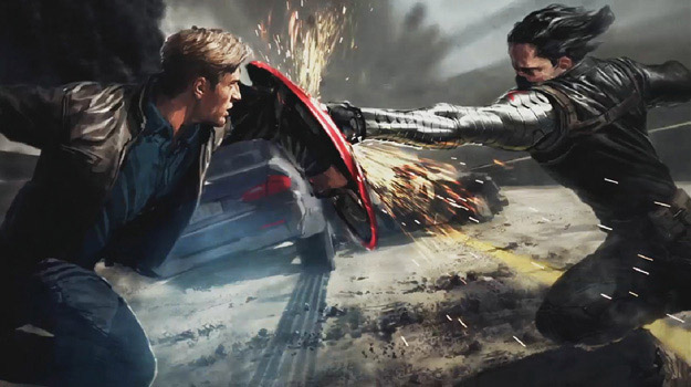 Concept art de Captain America: The Winter Soldier