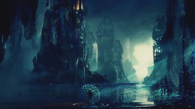 Concept art de Thor: The Dark World