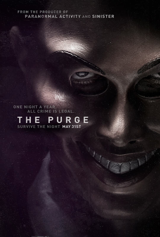 Primer cartel de The Purge