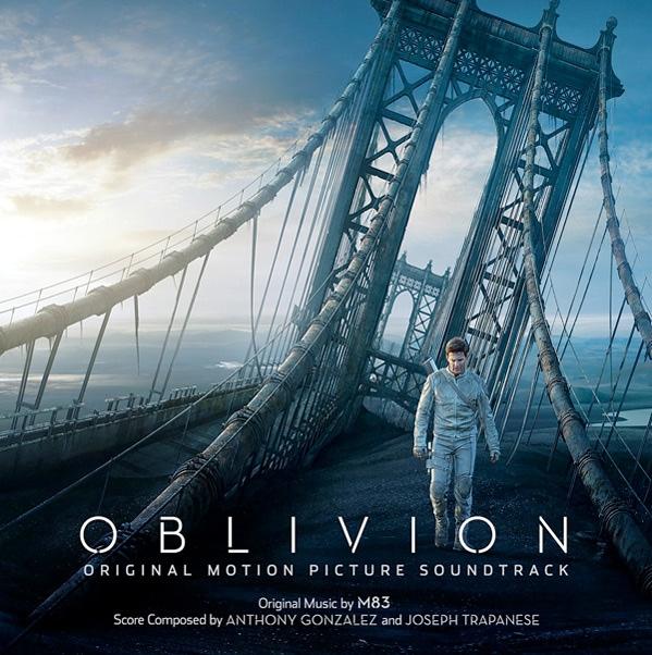 Carátula de la banda sonora original de Oblivion