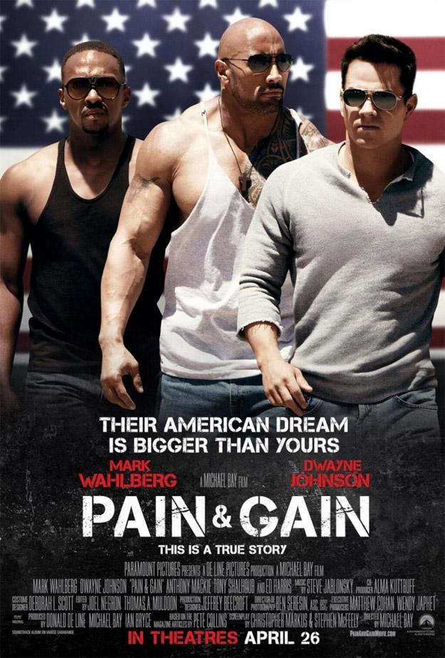 Otra testosterónico cartel de Pain & Gain