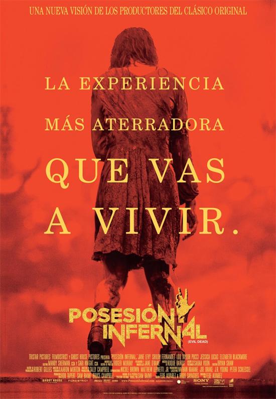 Cartel español de Posesión Infernal